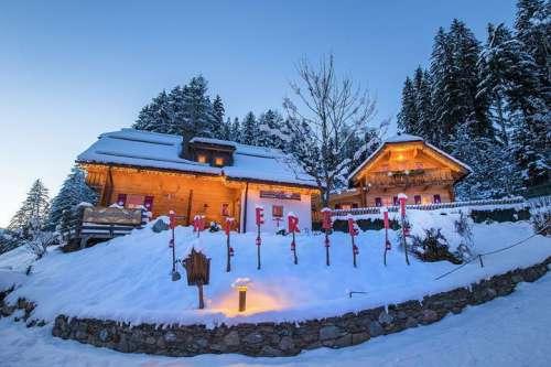 Winterzeit im Naturdorf Oberkühnreit