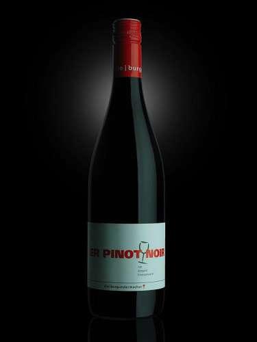 Flaschenfoto 'Der Pinot Noir'