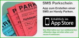 smsParkschein - Das App zum Erstellen einer SMS an Handy Parken